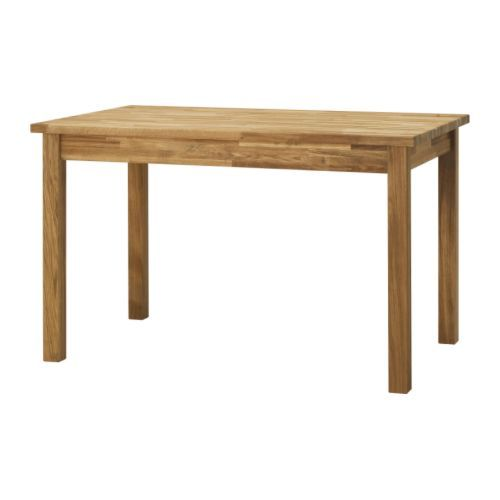 IKEA - EKENSBERG, Table, Solid oak is a hardwearing natural material which can be sanded and surface treated when required.