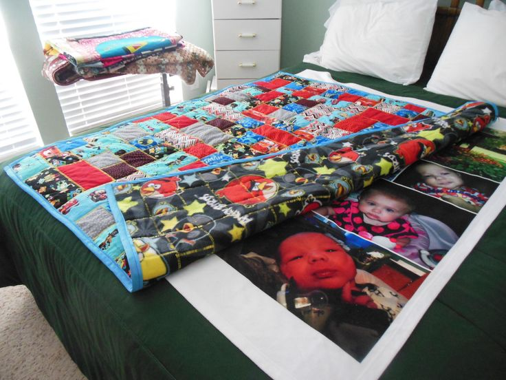 Quilt for our 1st grandson