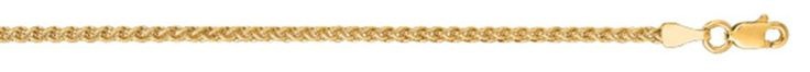 Ebay NissoniJewelry presents - 14K Yellow Gold 18 2.1mm Shiny Round Wheat Chain with Lobster Clasp    Model Number:RW050-18    http://www.ebay.com/itm/14K-Yellow-Gold-18-2.1mm-Shiny-Round-Wheat-Chain-with-Lobster-Clasp/321612127965