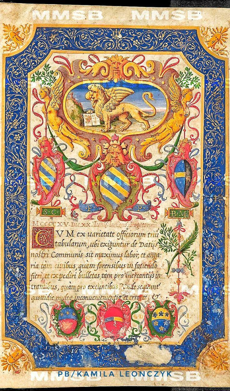 Decreta mercatoria senatus Veneti (magna ex parte) ab anno 1247 usque ad annum 1565 Místo vzniku: Itálie, Benátky (?) Datace: druhá polovina 16. století (post 1565, snad 1582 ?).Národní knihovna České republiky Signatura: VIII.H.74