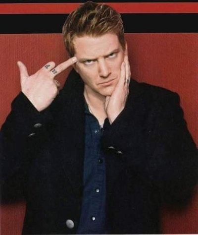 Josh Homme, Lead singer of Queens of the Stone Age (greatest band ever), and his inspirational quotes. He has an unbelievable mind!