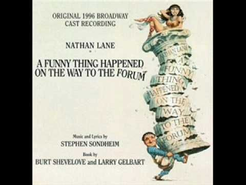 ▶ Comedy Tonight- A Funny Thing Happened on the Way to the Forum (1996 Revival) - YouTube