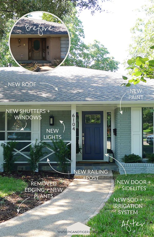 Best 25 Home Exterior Makeover Ideas Only On Pinterest