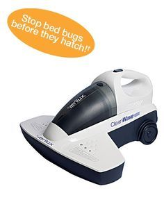 Keep your mattress and bedding germ-free with the CleanWave® UV-C Sanitizing Portable Vacuum.