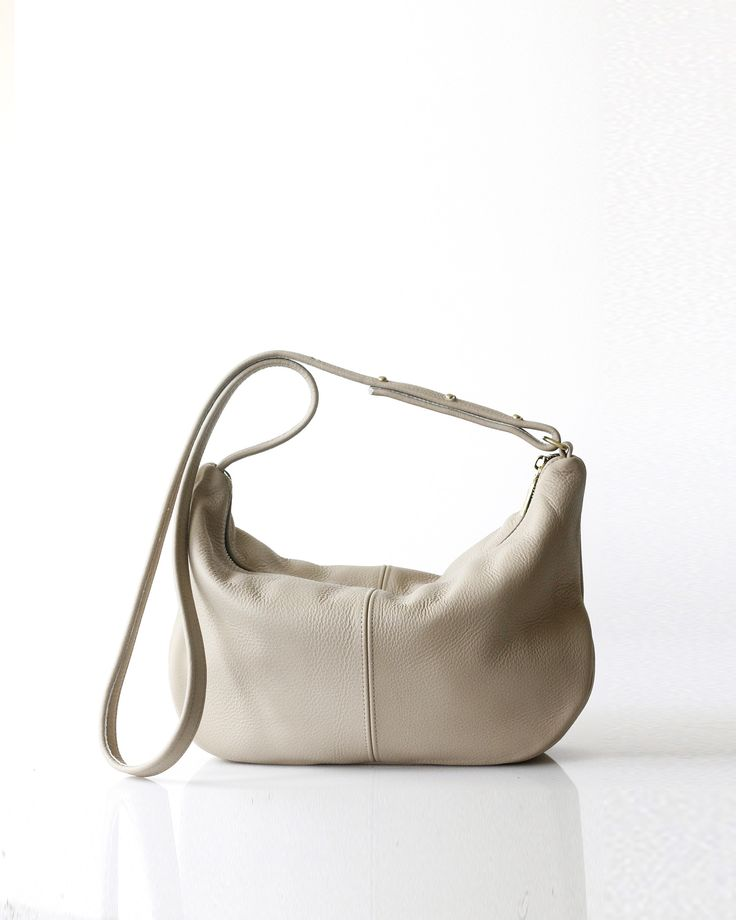Roberta Sling | Buff - Opelle bag SS17 - Opelle leather handbag handcrafted leather bag toronto Canada