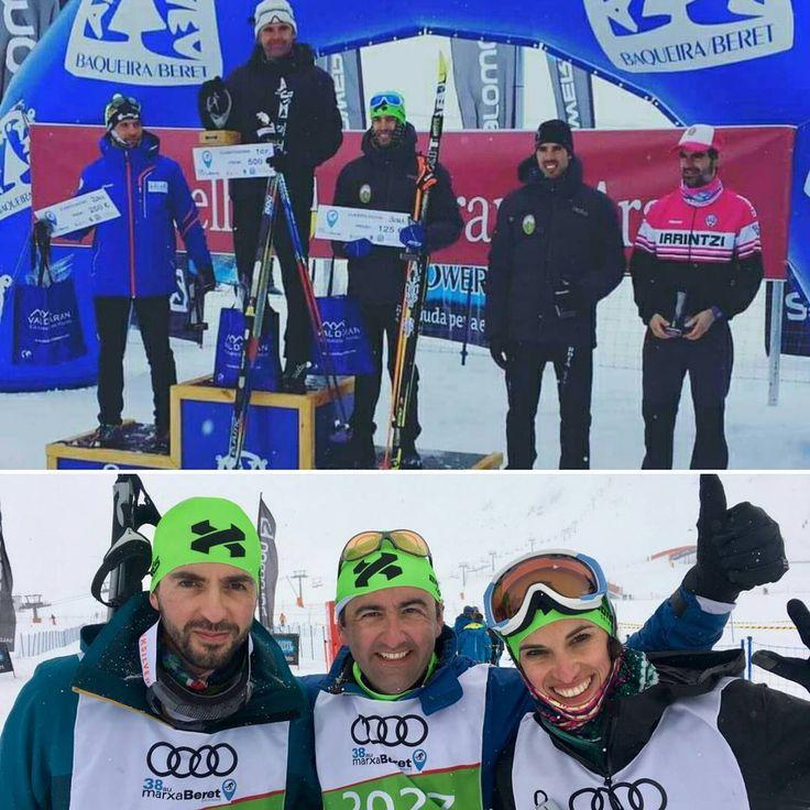 Enhorabuena a todos los deportistas que habéis participado en la Marxa Beret. Mención especial a los deportistas apoyados por Bonés Sports que han logrado varios podios, y en esta ocasión nos llevamos un gran recuerdo por todos los nuevos esquiadores que han confiado en Bonés para iniciarse en esta aventura. Bravo!! #marxaberet #marxaberet2017 #bonessports #bonesskiroll