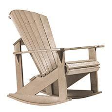 Chaise berçante Addy de Generation Line - Beige