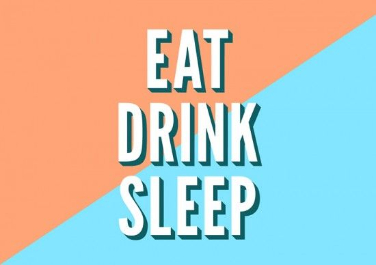 Eat, Drink, Sleep: New Work by &Smith | Inspiration Grid | Design Inspiration