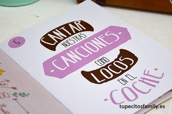Cantar nuestras canciones como locos en el coche. #tupecitos #tupecitosfamily #librillos
