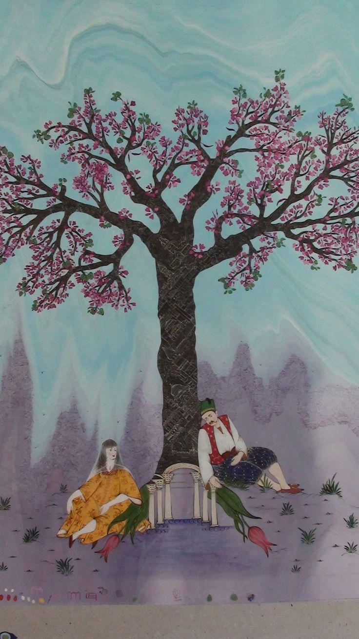 erguvan ağacı içinde istanbul Yapan şebnem gözde