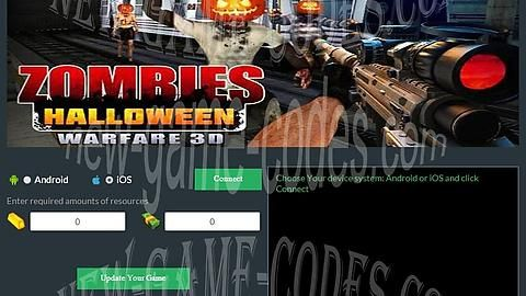 """Zombies Halloween Warfare 3D Hack Cheats Telecharger Gratuit [MONEY-GOLD]   Hello. Today, our team has to present you Zombies Halloween Warfare 3D Hack. This cheat works on Android mobile phones and IOS device. Zombies Halloween Warfare 3D Hack is very easy to use so you will not have any problems. Zombies Halloween Warfare 3D Cheats uses the """"anti-ban"""" and the Proxy, so no ban will not happen. It also has automatic updates that guarantee the functionality of the hack. By using our Zombies…"""