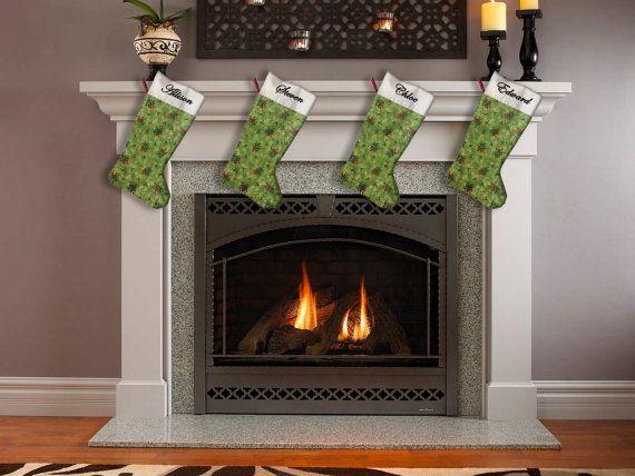 Calzino di Natale calza di Natale calza su misura di LaTanaDiOtto