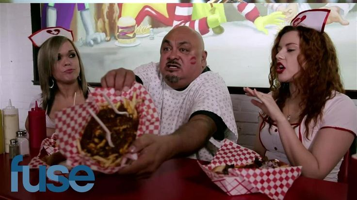 Fluffy's Food Adventures Returns To The Heart Attack Grill