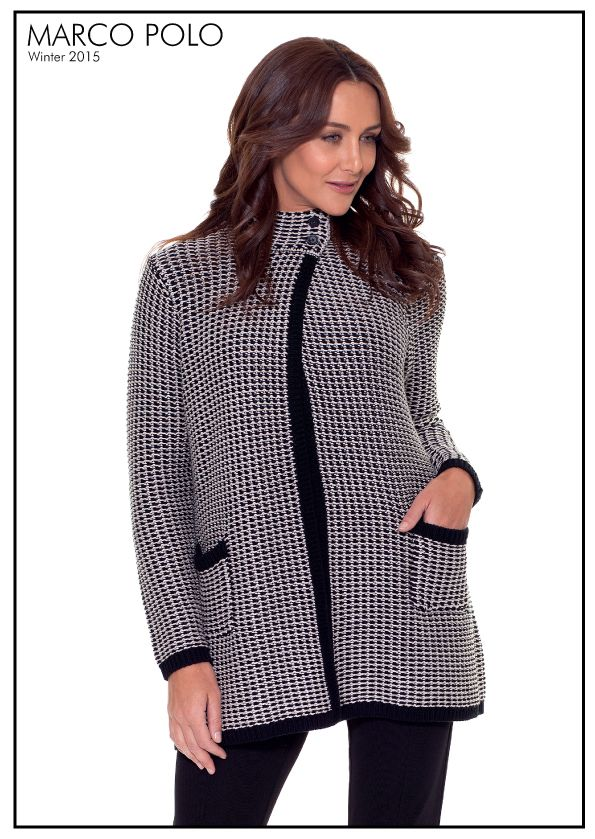 A beautiful unique knit. Our Chunky Knit Cardigan is the perfect winter warmer. Style with leggings and boots for stylish outfitting. Please call 03 9902 5100 to locate your nearest stockist or shop online today for other great knitwear at http://www.marcopolo.net.au/knitwear (Style Number: YTMW53056)