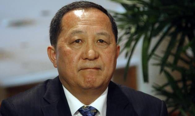 """""""Pyongyang tem todo o direito de tomar as devidas ações"""", disse o ministro das Relações Exteriores da Coreia do Norte agora há pouco."""