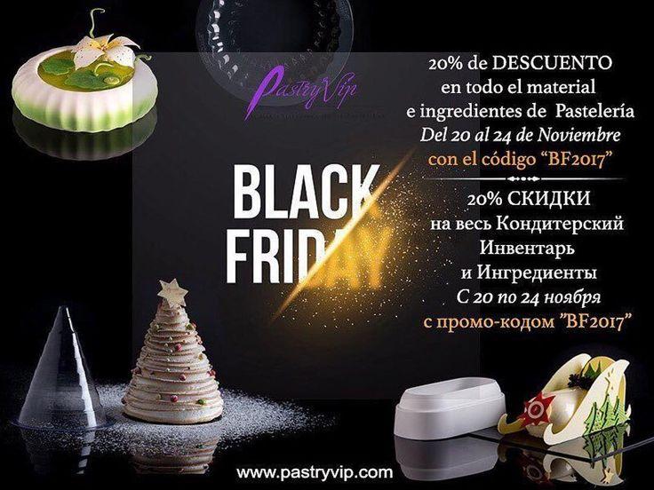 """Black Friday 2017.  Code BF2017.  Descúbrelo en nuestra Tienda Online: www.pastryvip.com ---- Сделать заказ можно в нашем Онлайн Магазине: www.pastryvip.ru ---- Visítanos sin moverte de casa: http://ift.tt/2heAUf1 ---- Escuela Internacional de Pastelería """"House-Pastry Lab. by Maria Selyanina"""" http://ift.tt/1tH36ZR Campus Online www.pastrycampus.com Tienda eCommerce www.pastryvip.com (34) 931224646 @maria_selyanina Barcelona - Spain ---- #mariaselyanina #mariaselyaninaschool #pastryschool…"""