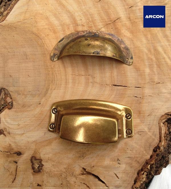 Concha tirador para cajones y mobiliario ref 803 y ref - Cajones de madera ikea ...