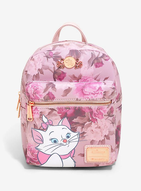 Loungefly Disney The Aristocats Marie Floral Mini Backpack - BoxLunch  Exclusive 0690ce0cbbc64