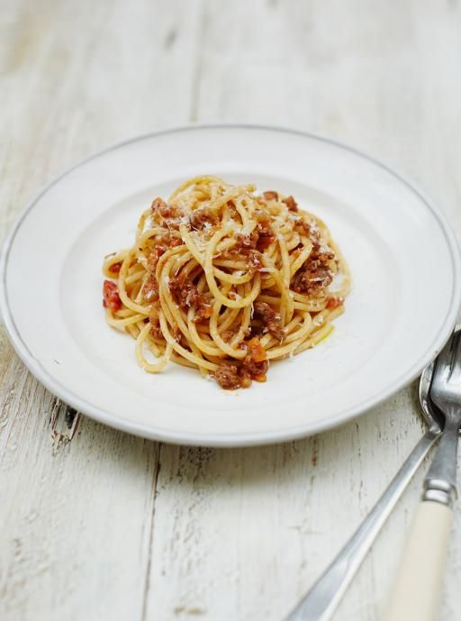 Spaghetti Bolognese | Pasta Recipes | Jamie Oliver