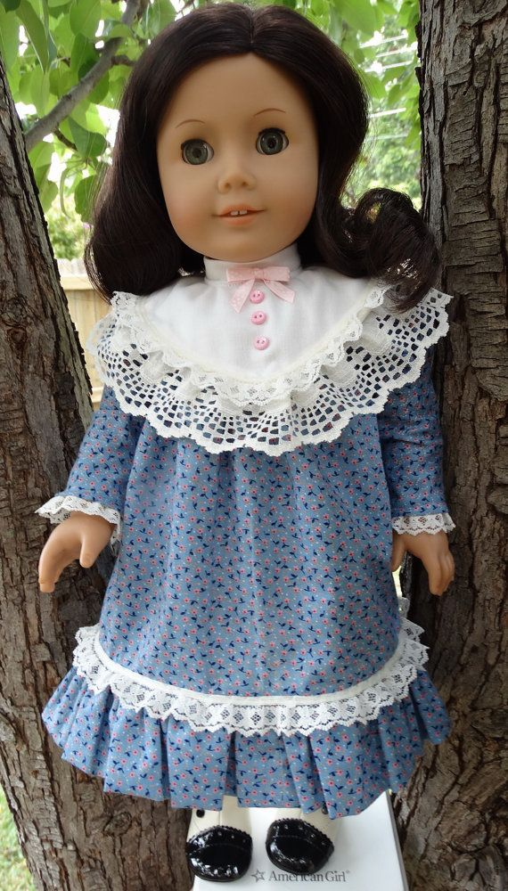 "RESERVED LISTING 18"" Doll Clothes Early 1900's Style Historical Dress Fits American Girl Samantha, Rebecca"