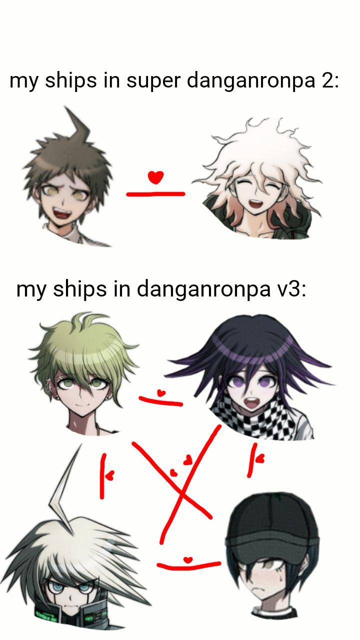 More like ship Shuuichi with literally everybody (I ship him with Kaede, Ouma, Kiibo, not so much Amami, Kaito ish, Shirogane a bit, etc.)