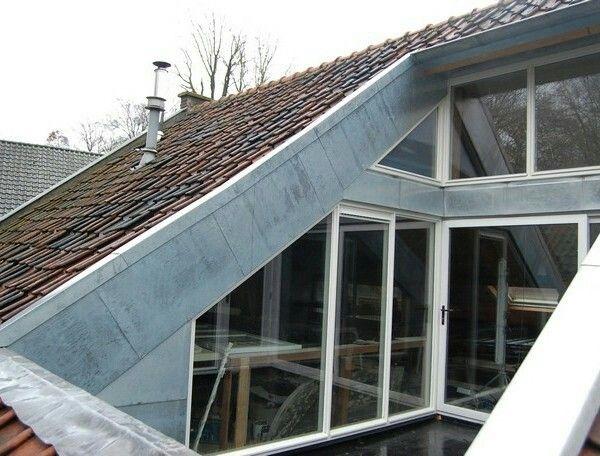 17 beste afbeeldingen over aanbouw op pinterest ramen dakterrassen en daken - Verriere dak ...