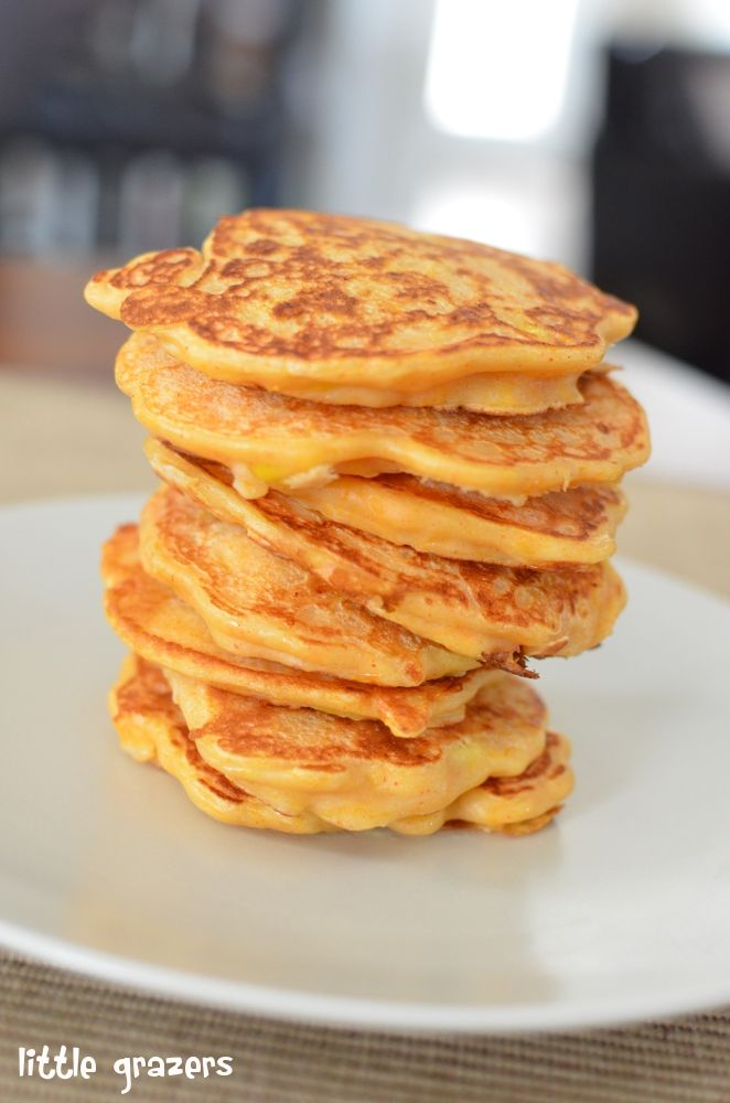 Perfect for my boy - He loves Butternut Squash. Butternut Squash and Sweetcorn Pancakes