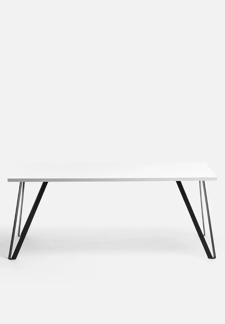 Steel V Coffee Table