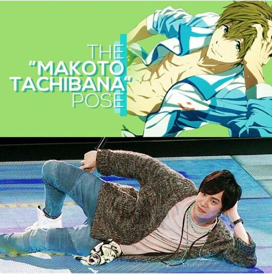 The Makoto Tachibana Pose ❤.❤