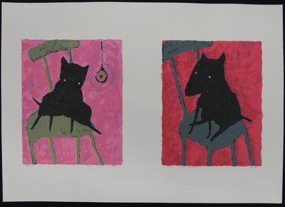 Peter Bastiaanssen - Hond (roze)