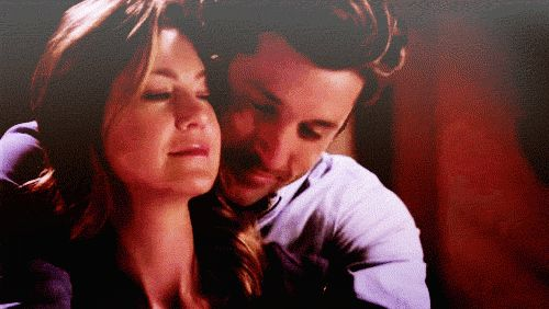 Pin for Later: 24 Times Derek and Meredith Were the Best Grey's Anatomy Couple This Loving Embrace