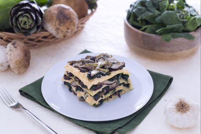 Ricetta Lasagne ai 5 ortaggi - Le Ricette di GialloZafferano.it