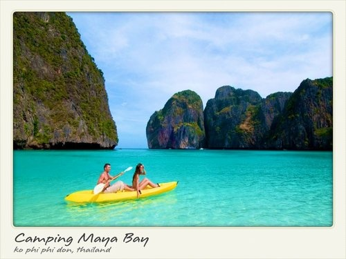 Camping Maya Bay - Ko Phi Phi Don, Thailand