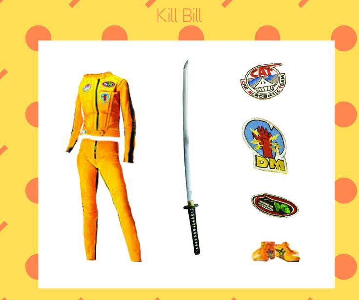 "The Bride's costume ""Kill Bill"" dir. Quentin Tarantino www.facebook.com/osobliwestrojefilmowe"