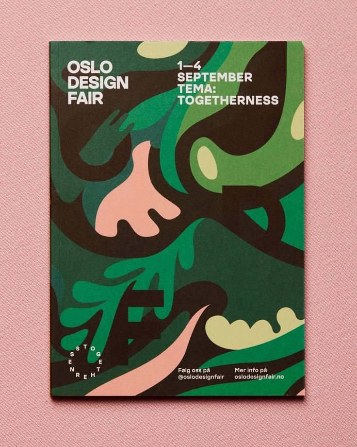 Oslo Design Fair Identity by Bielke & Yang #illustration #typography #branding