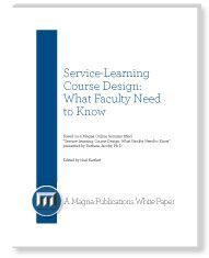 What Makes Service-Learning Unique: Reflection and Reciprocity | Faculty Focus