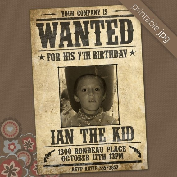 df9dfc76a35253b37f0f319a4cf2cb49 buffet ideas poster ideas 18 best wanted poster ideas images on pinterest,Wanted Poster Birthday Invitations