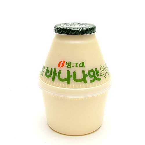 Banana milk is a Korean national drink in Korea. It is one of the most popular drink in Korea. Korean Banana milk beverage tastes slightly similar to the taste of the milk juice.  *Cough* *Cough* hands up which shinee memeber does this remind you of??? :D