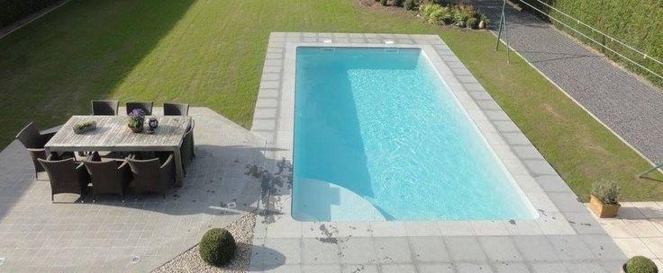 Bahia : piscine coque polyester 8m x 4m - Mattimmo