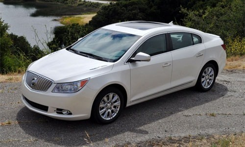 2012 Buick LaCrosse; what a beauty!