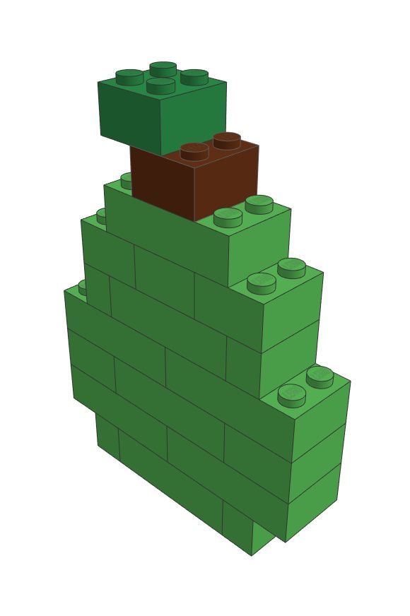 LEGO Pear Model. Instructions available on our website!