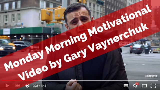 If you hate #Mondays watch this short video: http://brandonline.michaelkidzinski.ws/watch-this-if-you-hate-mondays/ (with Gary Vaynerchuk)