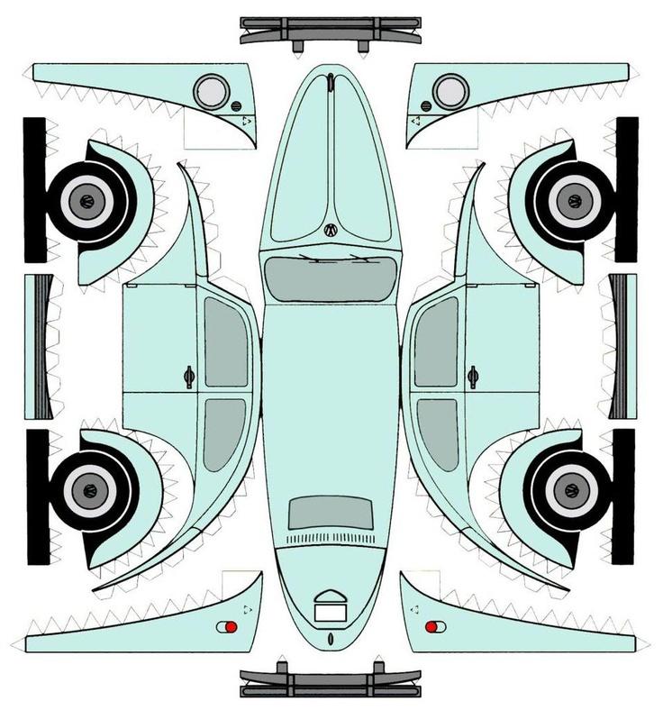VW paper model