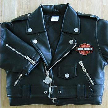 MOM, SO I KNOW I PREVENTED YOU BUYING THIS THE FIRST TIME....BUT YOU REALLY NEED TO GET A HARLEY LEATHER JACKET FOR OUR BABY...baby harley davidson - Google Search