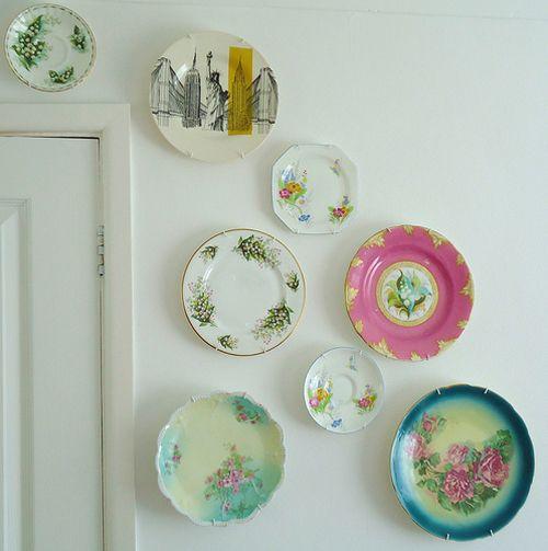 Heart Handmade UK: Flickr Group Favourite | Colorful Crochet Inspiration from Memi Rose-Fun plate arrangement