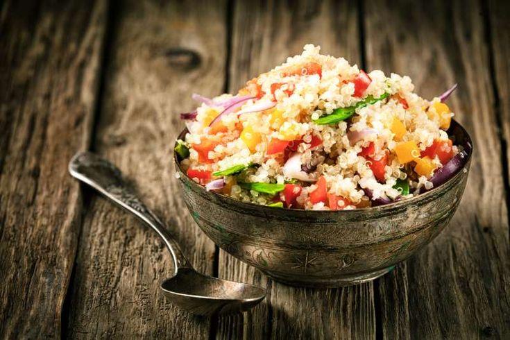 Συνταγή: Νοστιμότατη σαλάτα με κινόα