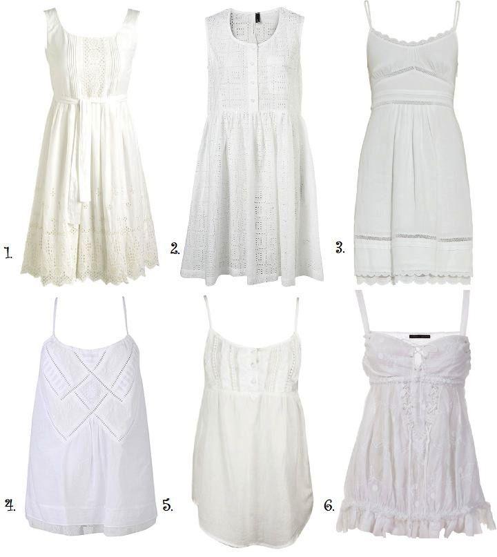 White dresses rock for summer.White Dresses, Runway Hippie, Dresses Rocks