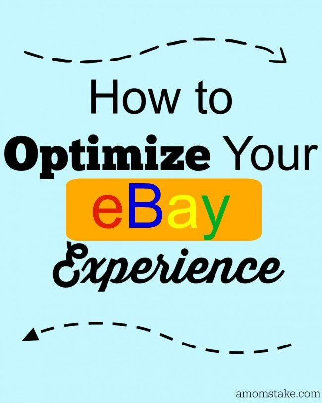 How To Optimize Your EBay Experience