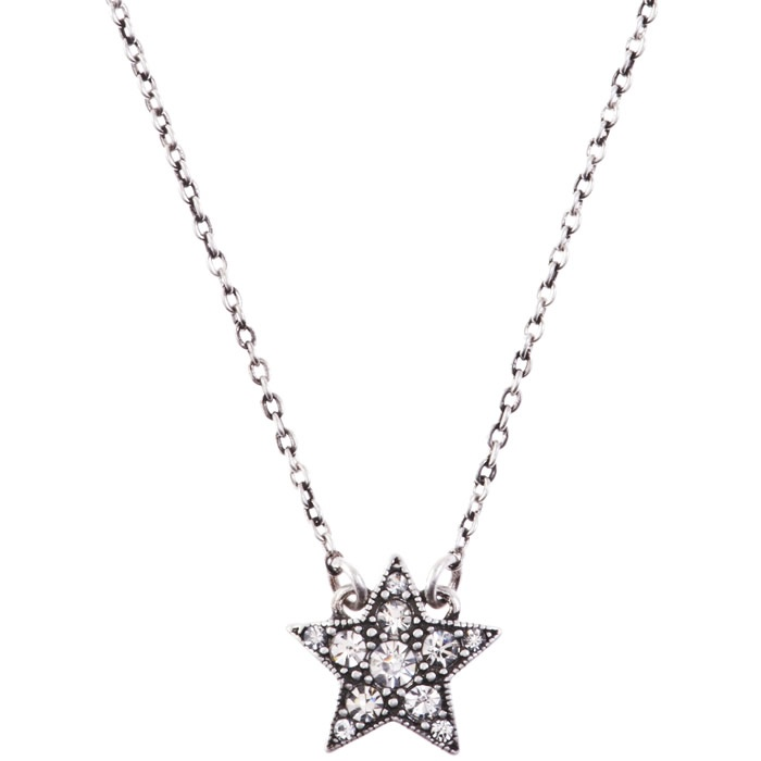 Cath Kidston silver star necklace