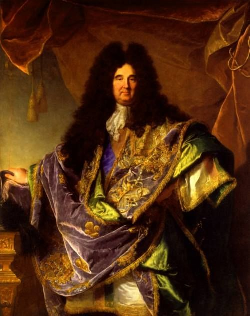 Philippe de Courcillon, marquis de Dangeau, Grand Master of the Order of St. Lazarus and Mount Carmel Hyacinthe Rigaud